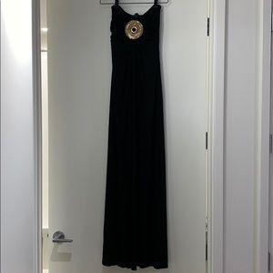 Sky Bossk Black Maxi Dress xs